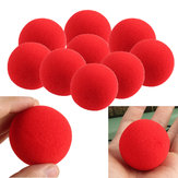 20PCS Close-Up-Magie Street Trick Weich Schwamm Ball Requisiten, Clown-Nase