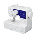 Mini-máquina de costura elétrica de mesa 12 pontos alfaiate doméstico roupas diy