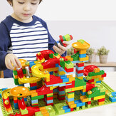 165 PCS Marble Run Building Blocks Maze Ball Track Blocks Set Construction Toys Puzzle Maze Building Set для 3+ летних мальчиков и девочек