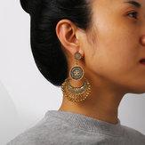 Retro Bronze Quasten Ohrring