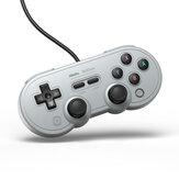 8BitDo SN30 Pro USB cablato Gamepad per Nintendo Switch PC Windows Raspberry Pi Controller di gioco Steam per console di gioco Switch