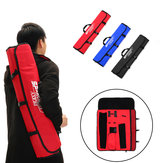 Portable Adjustable Strap Archery Hunting Takedown Recurve Bow Bag Case Backpack