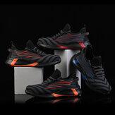AtreGo Erkek Örgü Güvenlik İş Ayakkabıları Çelik Burunlu Anti-smash Anti-delinme Spor Ayakkabıları