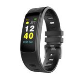 iWOWNi6HRC0.96inchIPSHartslagmeter stappenteller Sportmodus Bluetooth Smart Armband Polsband