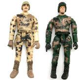 2PCS WPL Simulate Action Figure Soldier Doll 10cm Random Delivery RC Car Parts
