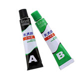 Kafuter AB Glue Transparent Fast Drying Epoxy Resin AB Glue All Purpose Adhesive Super Glue For Glass Metal Ceramic Hardware