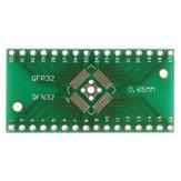QFN32 QFP32 átalakító SMD-DIP adapter NYÁK-alaplap