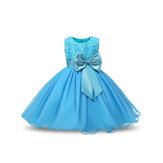 Blomst Toddler Girls Kids Wedding Wedding Formal Prinsesse Kjole
