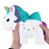 Enorma Squishy Unicorn Horse 30cm Giant Humongous Animal Jumbo Slow Rising Collection Soft Leksaker med gratis present