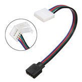 8MM 4 Pin Female Connector No Soldering Cable for 3528 5050 RGB LED Strip Light