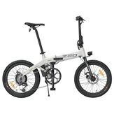 [AB DOĞRUDAN] HIMO Z20 10.4AH 36V 250W Katlanır Elektrikli Bisiklet 20 inç Lastik 25 km / saat En Yüksek Hız 80 km Kilometre Menzili 6 vitesli Şanzıman Akıllı Ekran Çift Diskli Fren AB DOĞRUDAN