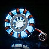MK2TonyDIYobloukováreaktoroválampa svítidla z nerezové oceli LED Flash světelná sada