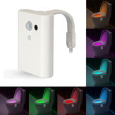 8 kolorów Intelligent Closestool Induction Sense LED Night Light Lampa nocna z aktywowanym wc