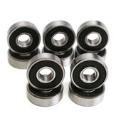 10pcs 608RS Bearing 8x22x7mm Deep Groove Miniature Bearing 608-2RS Deep Groove Ball Bearing