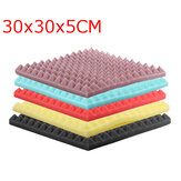 30x30x5cm Acoustic Soundproofing Sound Absorbing Noise Foam Tiles