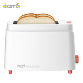 Deerma DEM-SL261 Automatic Bread Maker Toaster Electric Baking Machine  Household Breakfast Maker 9 Adjustable Gears Double-side Baking