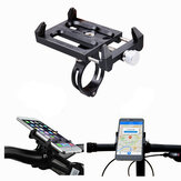 GUB G-83 Anti-Slip Universal Bicycle 3.5-6.2inch Phone Holder Mount Bracket for Smart Mobile Phone Handlebar Clip Stand