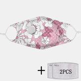 2 szt. PM2.5 Filtruj jednorazowe maski z maską oddechową