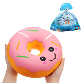 SanQi Elan Huge Donut Squishy Jumbo 25*25*10CM Soft Slow Rising With Packaging Collection Gift Decor Giant Toy