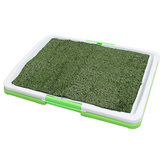 3 Tire Indoor Puppy Dog Pet Potty Training Pee Pad Mat Tray Grass Toilet With Tray