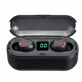 F9-8 TWS Wireless bluetooth LED Display Earphone Stereo Earbuds IP67 Waterproof Headphone with Mic Charging Box