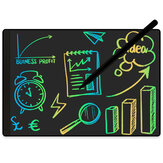 NUSITE 9.5 Inch Full Screen LCD Writing Board With Magnetic Stylus Color Font One Key Clean Doodle Drawing Board Business Stationery Supplies
