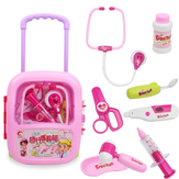 Kids Pretending Doctor's Playing Set Zestaw edukacyjny Case Boys Girls Toys