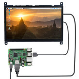 Raspberry Pi 4B LCD Écran tactile capacitif 7 pouces HDMI HD Display USB Drive-free 1024 × 600PX IPS