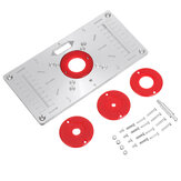 235X120X8mm Trimming Machine Flip Panel Woodworking Router Table Insert Plate