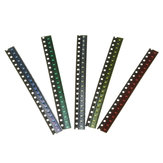 300Pcs 5 Colors 60 Each 0603 LED Diode Assortment SMD LED Diode Kit Green/RED/White/Blue/Yellow