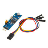 PL2303 USB To UART TTL Converter Mini Board LED TXD RXD PWR 3.3V/5V Output Serial Module