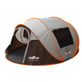 5-6 Person Camping Tent Double Door Automatic Sunshade Canopy Family Tent Outdoor Travel
