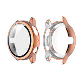 ENKAY Plating PC Watch Case Cover + 9H Tempered Glass Anti-Scratch Screen Protector for Samsung Galaxy Watch Active 2 40mm