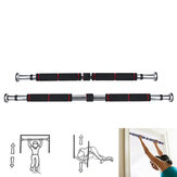 62-100/82-130cm Pull Up Bar Adjustable Door Horizontal Bars Fitness Training Exercise Tools Max Load 160kg