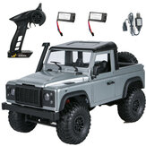 MN99s A RTR Model with 2/3 Battery 1/12 2.4G 4WD RC Car for Land Rover Vehicles Indoor Toys