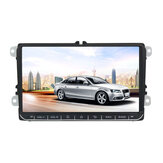 9 Pollici 2 DIN per Android 8.1 Autoradio Quad Core 1 + 16G Radio Touch Screen GPS WIFI bluetooth per VW Skoda Seat