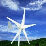 400 W Rüzgar Türbini Rüzgar Jeneratörü DC 12 V / 24 V 5 Jiletler fırıldak Şarj Kontrol ile