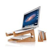 Wood Desk Cooling Laptop Stand Holder For Notebook/Laptop/Tablet PC/Macbook/iPad