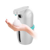 Automatic Induction Hand Soap Dispenser Touch-free IPX5 Waterproof Foaming Hand Wash 0.25s Infrared Sensor Intelligent Hand Washing Device for Kitchen Bathroom