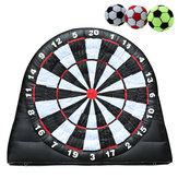 4M/13ft High Giant Game Soccer Balls Inflatable Dart Board With 220V Air Blower Toys