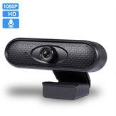 1080 P HD Ücretsiz Sürücü USB Webcam Konferans Canlı Bilgisayar Kamera PC Laptop için Dahili Gürültü Azaltma Mikrofon