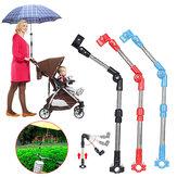 Carrinho de guarda-chuva de golfe Suporte para guarda-chuva de bebê Carrinho de guarda-chuva para carro Suporte de guarda-chuva para cadeira de rodas Viagem de caminhada