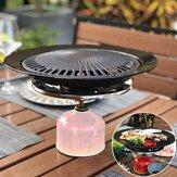 Portátil Coreano Ao Ar Livre Churrasqueira A Gás Pan Pan Camping Placa de Fogão A Gás Churrasco Assar Conjuntos de Ferramentas de Cozinha