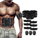 KALOAD 12PCS EMS Arm Abdominal Muscle Trainer Body Beauty ABS Stimulátor