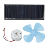Small Experiment DIY Handmade Kit Solar Panel Small Fan Power Generation Physical Model Material Package
