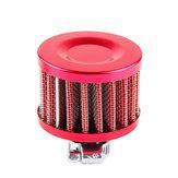 12мм универсальный фильтр масляный клапан круглый автомобиль воздушный фильтр картера двигателя