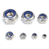 165Pcs Stainless Steel Nylon Insert Locknut Assortment Kit M3 - M12