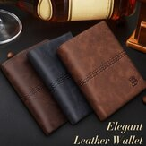 Vertikal Mens Wallet Male Money Purses Soft ID Card Case