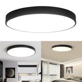 12W 18W 24W 5CM Warm/Cold White LED Ceiling Light Black Mount Fixture for Home Bedroom Living Room