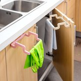 Kitchen Cabinet Hanging Rubbish Bag Holder Garbage Storage Rack Cupboard Hanger